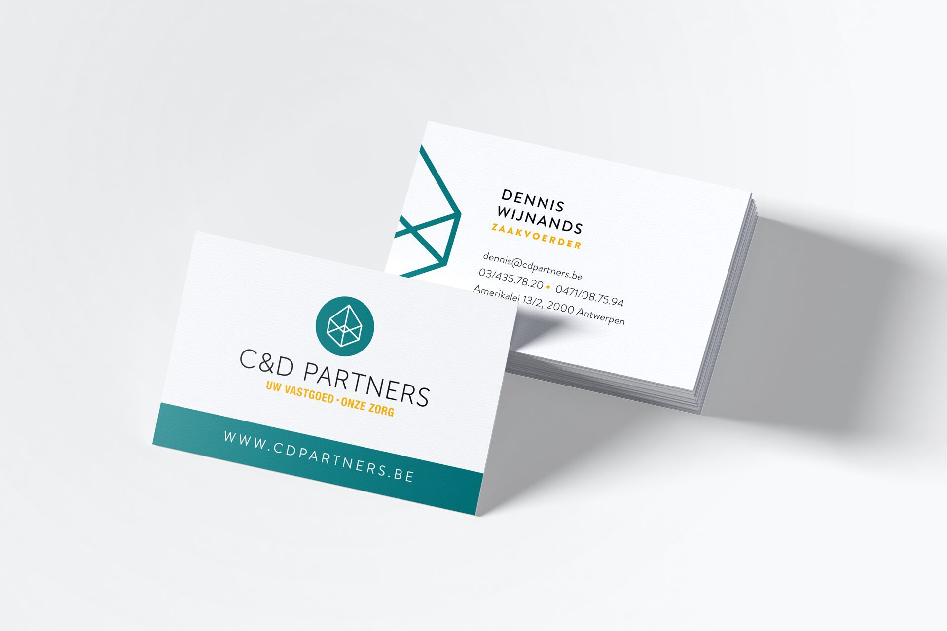 Picture C&D partners Brand Identity