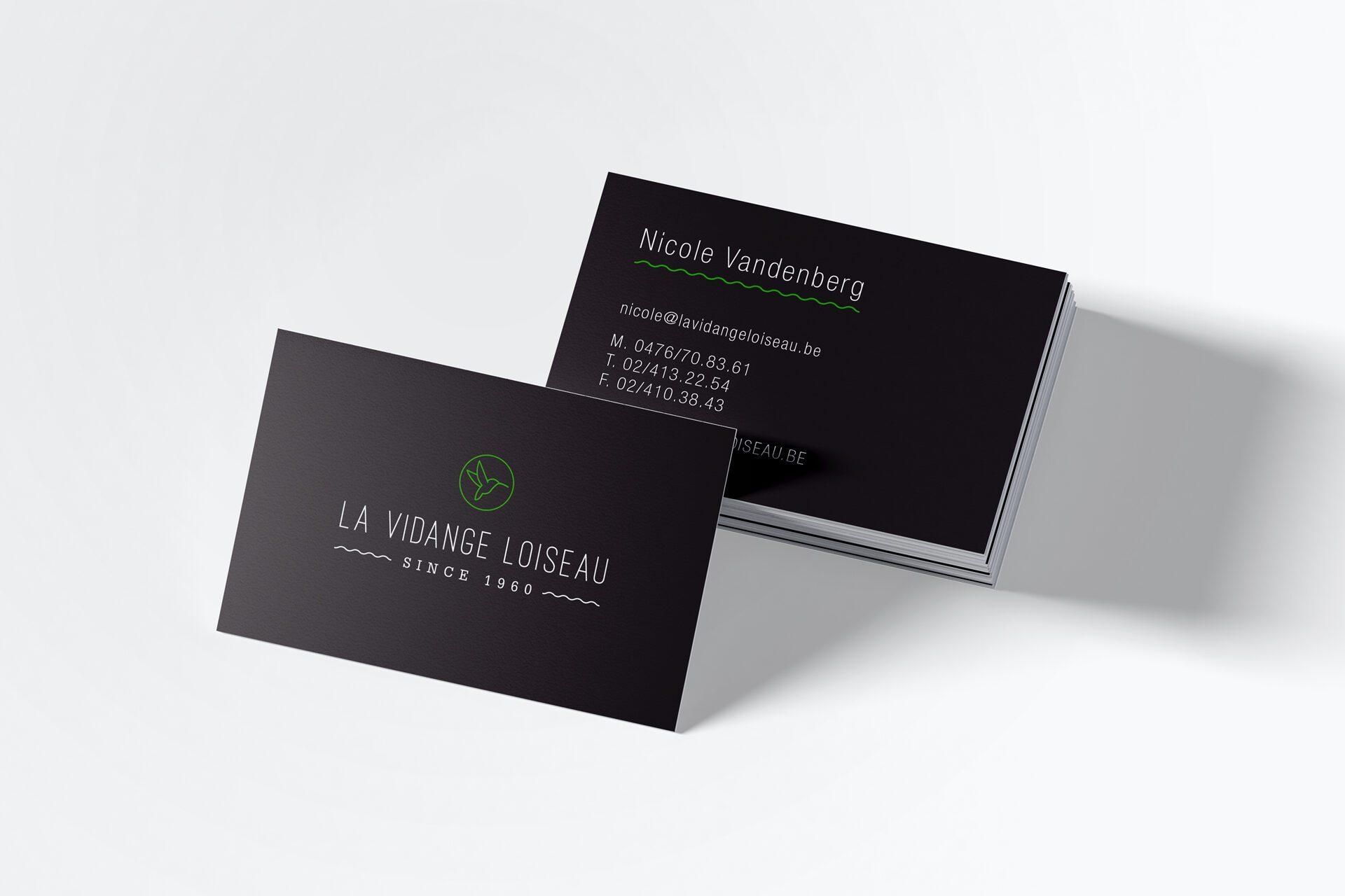 Picture La Vidange Loiseau Brand Identity
