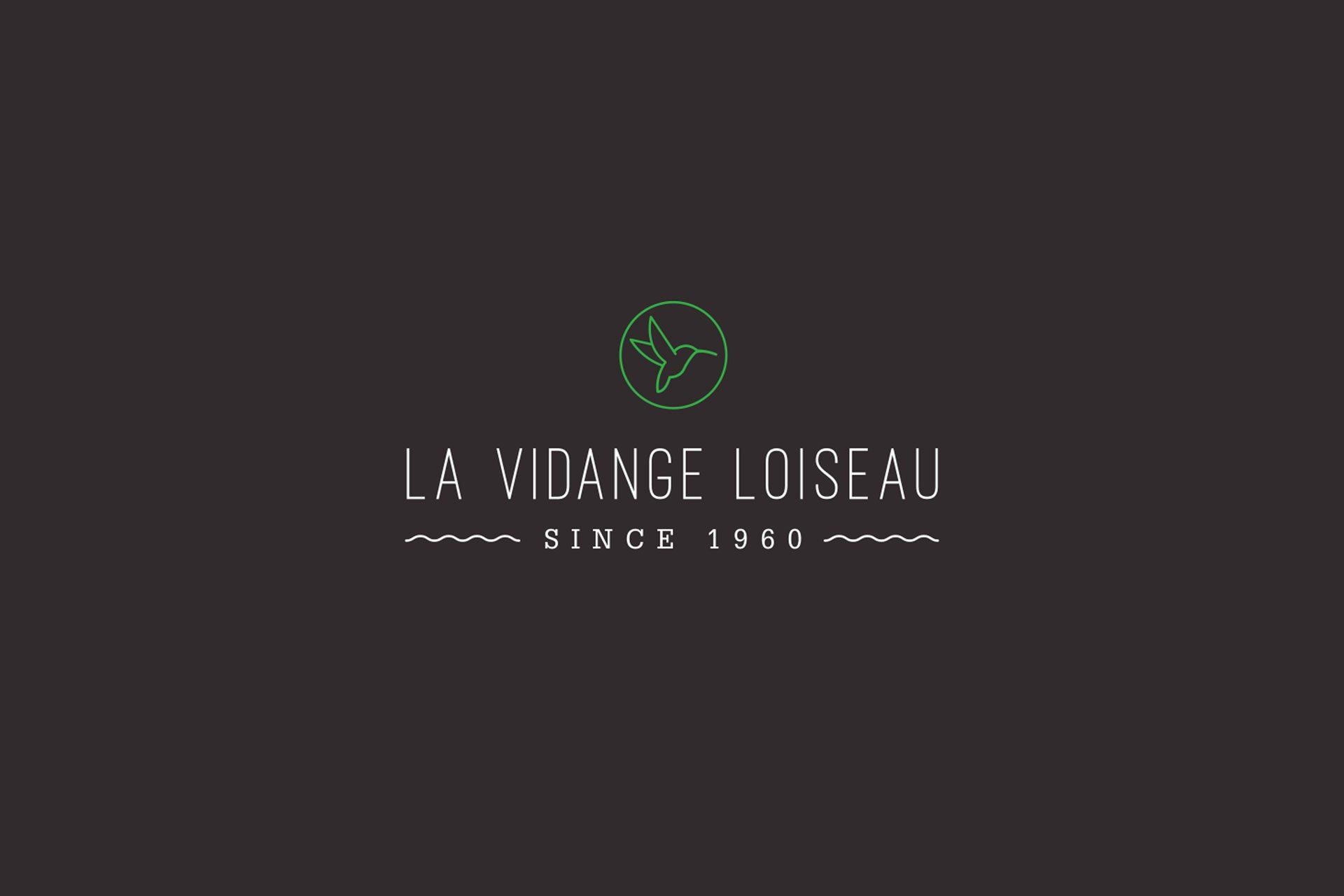 Afbeelding La Vidange Loiseau Brand Identity