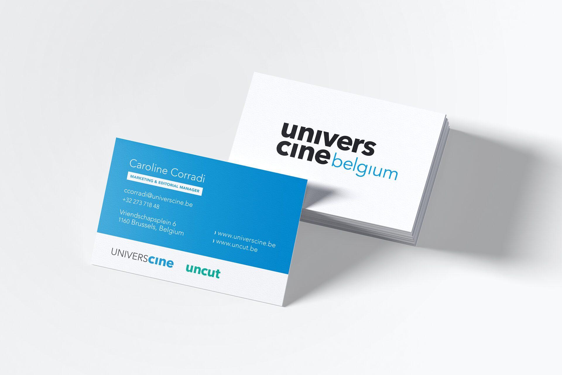 Picture UniversCiné Brand Identity